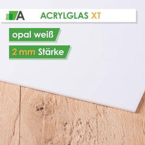 Acrylglas XT Stärke 2 mm opal weiß