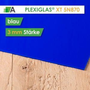 PLEXIGLAS® XT Stärke 3 mm blau 5N870