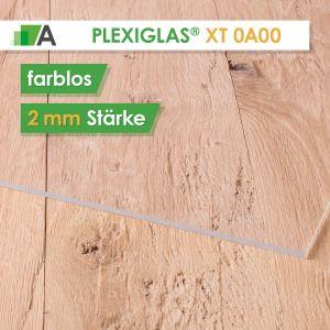 PLEXIGLAS® XT Stärke 2 mm farblos 0A000
