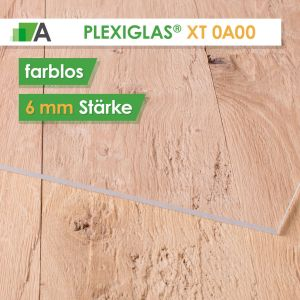 PLEXIGLAS® XT Stärke 6 mm farblos 0A000