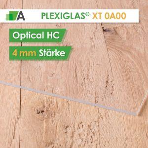 PLEXIGLAS® XT optical HC Stärke 4 mm farblos 0A000