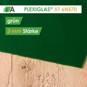 PLEXIGLAS® XT Stärke 3 mm grün 6N570